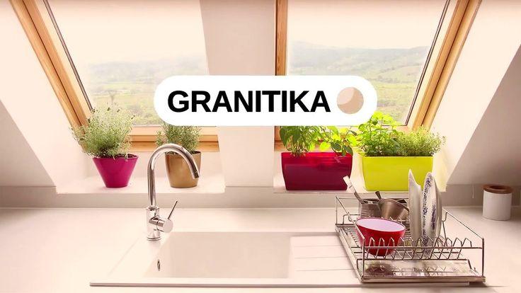Кухонные мойки GRANITIKA в магазине Dushik.com.ua  #GRANITIKA #Dushik