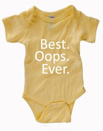 Infant Clothing - Best Oops Ever Onesie - Children (0-18 Months)