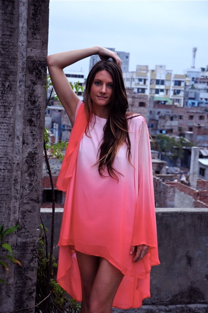 Siam silk dress pink $210 http://www.embrossia.com.au/bachhara-siam-dress-en.html