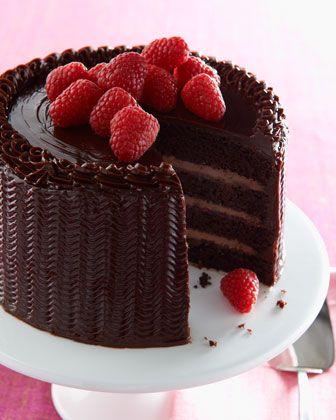 Chocolate Raspberry Cake!