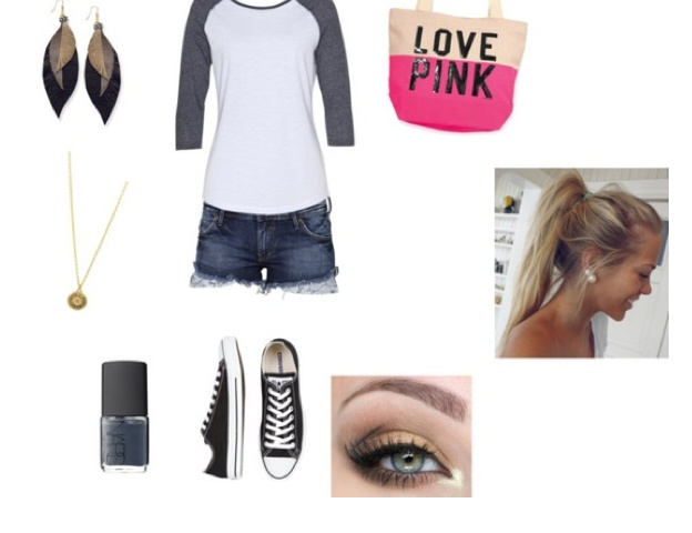 Baseball Game Cute Outfit   Style   Ballpark.   Pinterest   Sporty Love This And Baseball