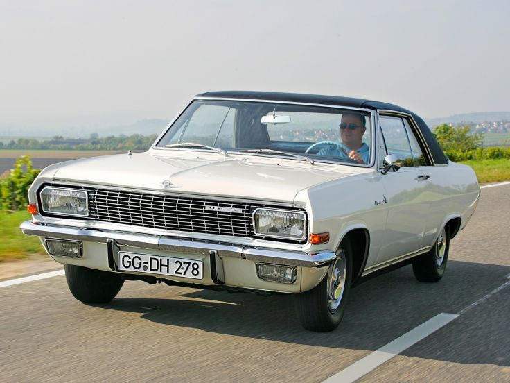 1965 Opel Diplomat V8 Coupe (A) classic muscle v-8 f