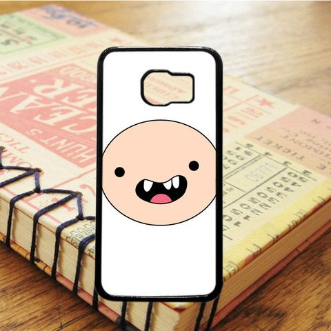 Adventure Time With Finn And Jake Finn Face Samsung Galaxy S7 Case