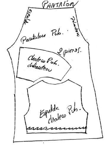 Patrones (antiguos) para vestidos de muñecas