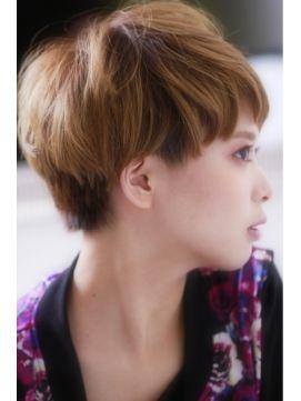 丸顔さんのためのショートヘアカタログ MERY [メリー]