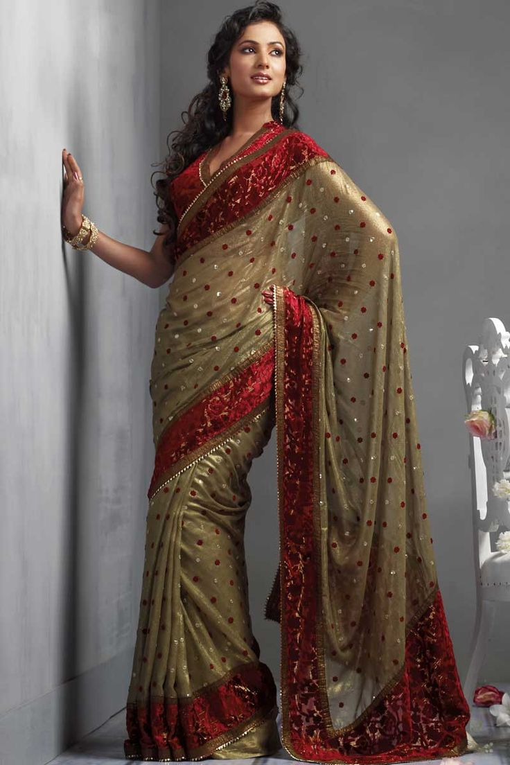1000+ Ideas About Sari Dress On Pinterest