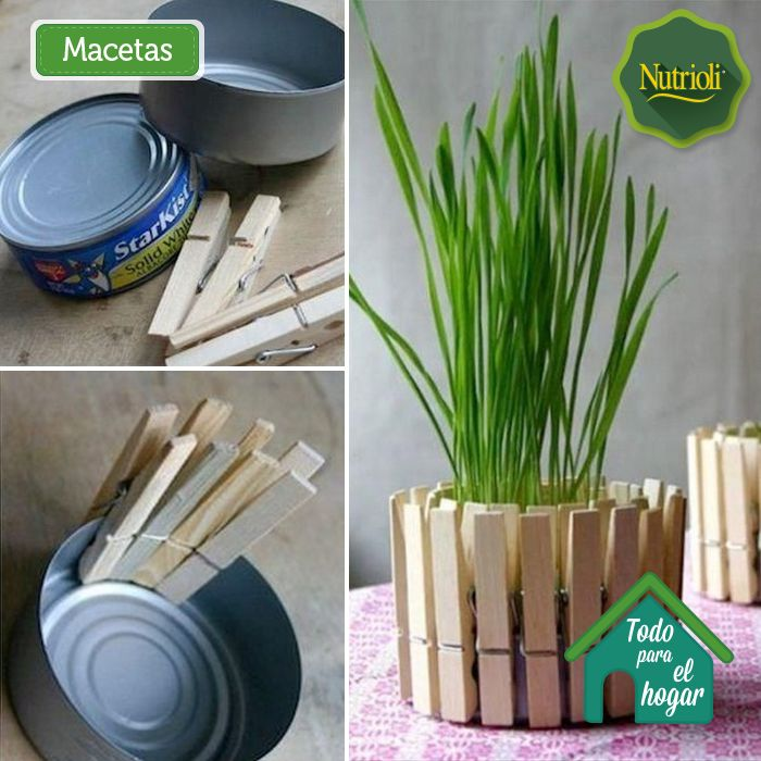 49 best images about hazlo con tus manos on pinterest - Macetas originales para plantas ...