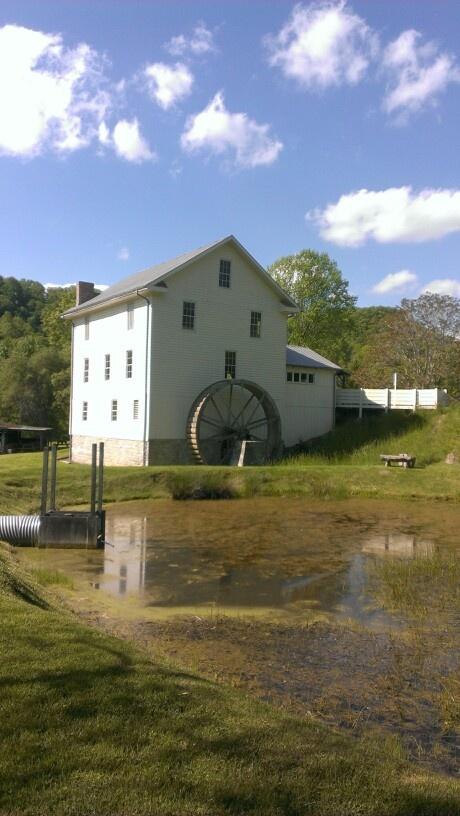 The newly renovated Whites Mill in Abingdon Va.