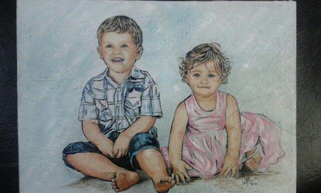 Portret of my kids