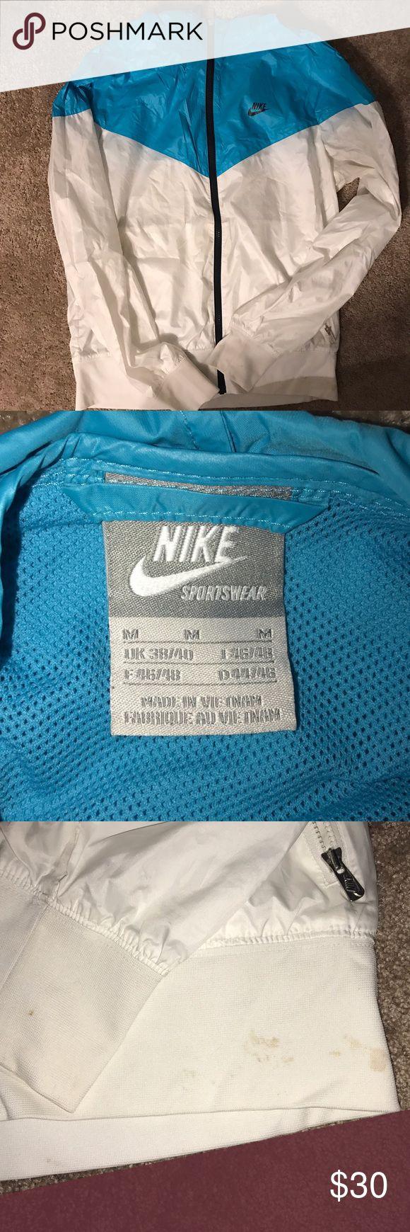 Women's Nike Jacket Women's Nike Windbreaker Jacket. Some staining on waistband. Size Medium. Nike Jackets & Coats
