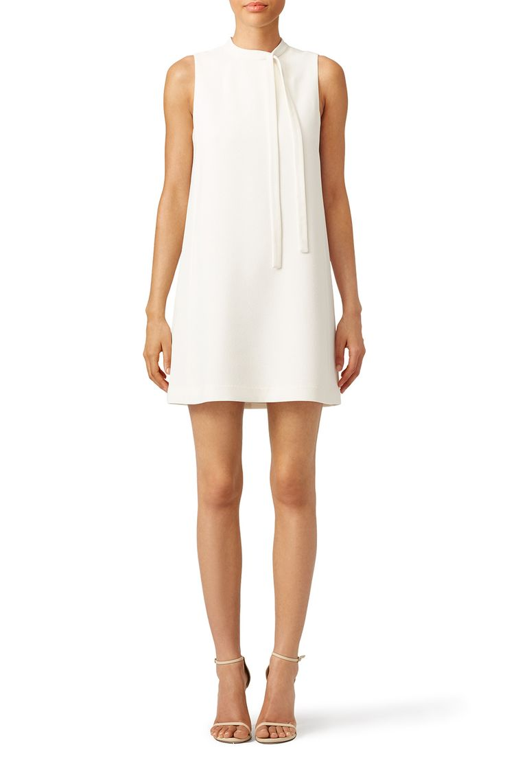 Go simple and chic in this ivory Slate & Willow shift. Wear the look with strappy sandals to any bridal event.