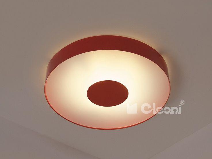 Lampy młodzieżowe Cleoni  Carina 50 Plafon - Cleoni - plafon nowoczesny    #design #teen #lamp #Abanet.pl #Cleoni  PF103f 1158P2