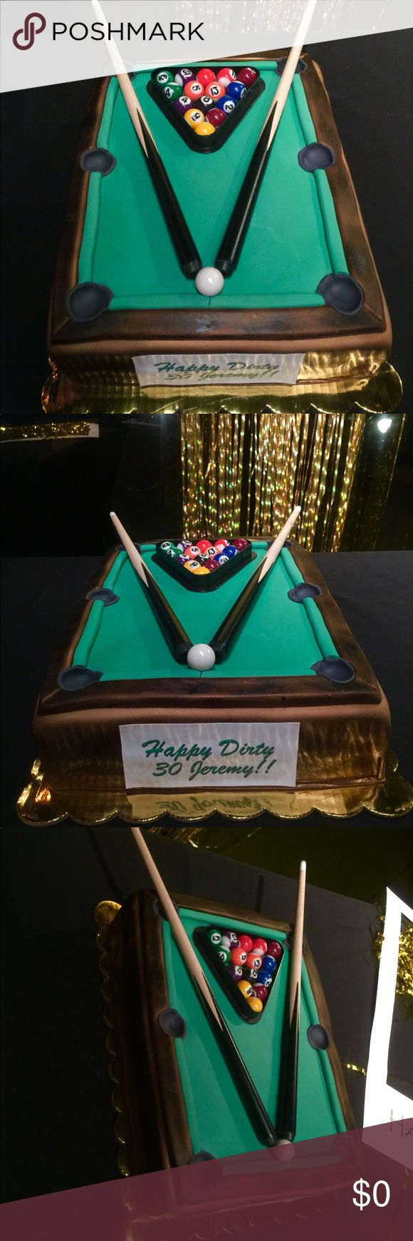 Pool table cake Pool Table Cake Other