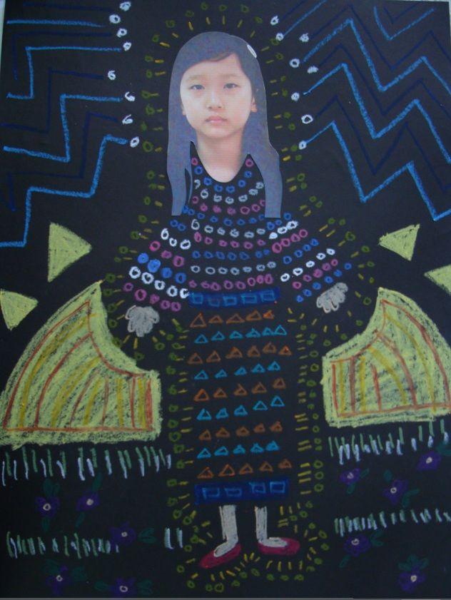 Create A Klimt Masterpiece -   A Kid's Art Project on Patterns!