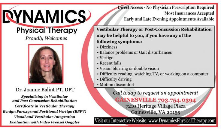 Dr. David Sahley, Dynamics Physical Therapy is known worldwide. Want only the best PT? 3 offices, Gainesville, Herndon & Haymarket Virginia. Start feeling better.