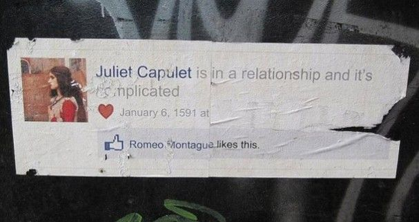#Facebook #Like #Romeo #Juliet