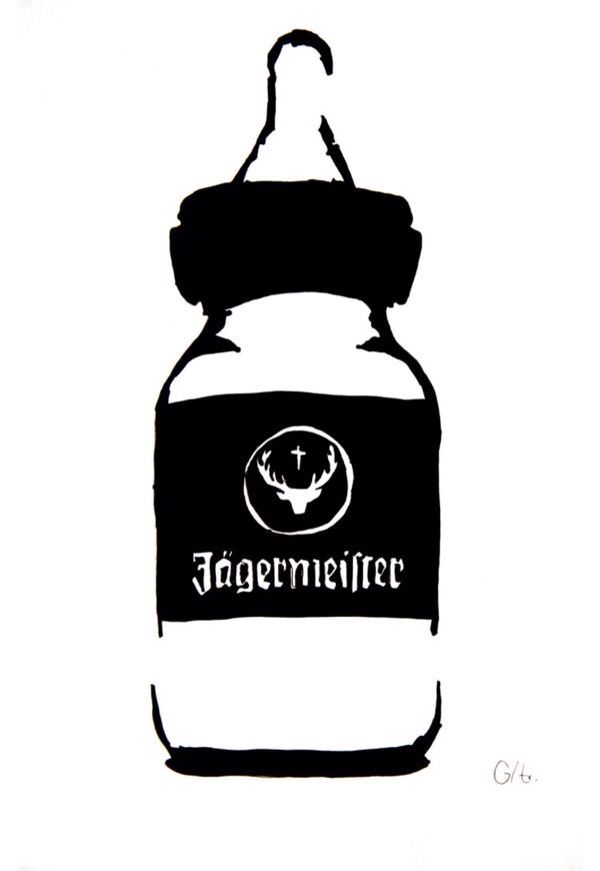 Jägermeister Baby Bottle