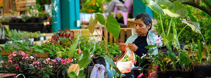 Feria de las Flores en Tenago, cada Semana Santa