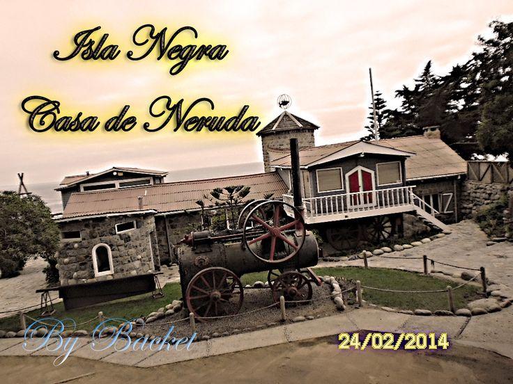 casa de Pablo Neruda poeta chileno
