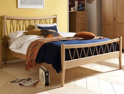super king willis gambier grace oak bed frame