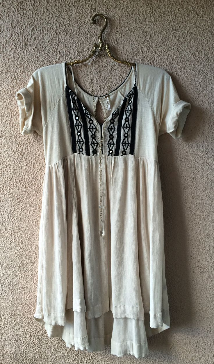 Free people gypsy bohemian resort dress / Bohemian Angel