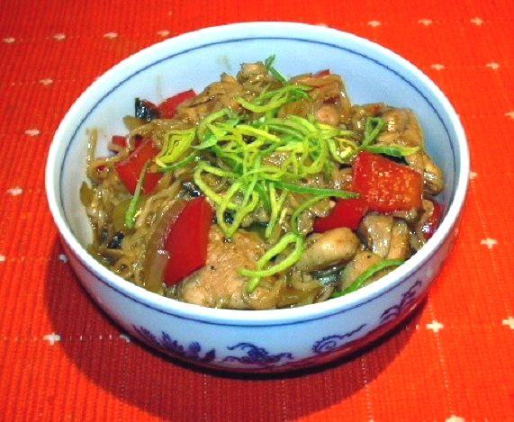 """Kuřecí směs """"Asie"""" :: Domací kuchařka - vyzkoušené recepty"""