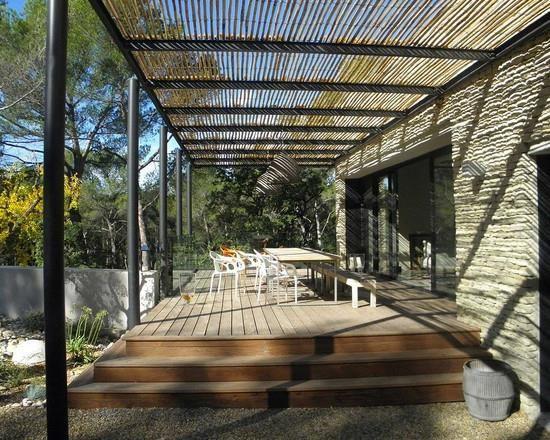 les 25 meilleures id es de la cat gorie pergola acier sur pinterest pergola en acier toiture. Black Bedroom Furniture Sets. Home Design Ideas