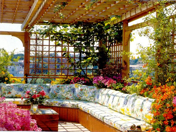 Small Roof Garden U2013 Effective Features And Benefits Part 17