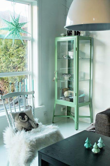 Ikea 'Fabrikör' display cabinet