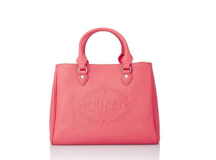 #LIUJO #bag #bauletto medio CORALLO
