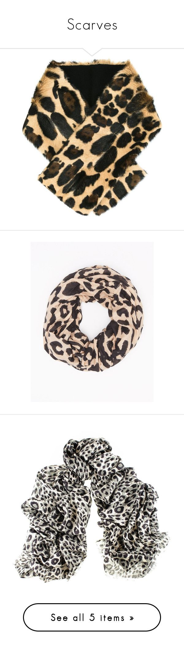 """Scarves"" by annakennedy70 ❤ liked on Polyvore featuring accessories, scarves, grey, fake fur shawl, gray scarves, grey faux fur shawl, faux fur scarves, faux fur shawl, brown and fur scarves"