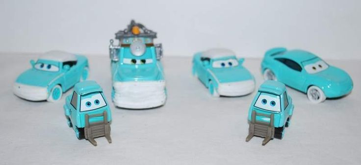 Disney Cars Toons Rescue Dr Mater Mia Tia Pitty Crew Nurse Diecast US Seller #Mattel