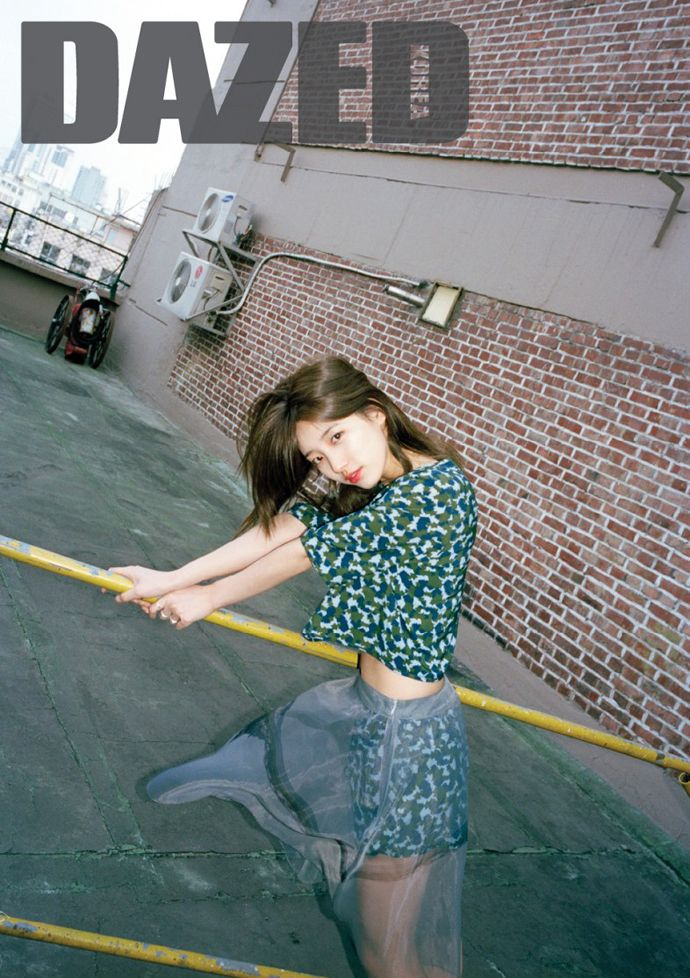 Suzy Stays Relaxed For Dazed Korea's May 2015 Issue | Couch Kimchi