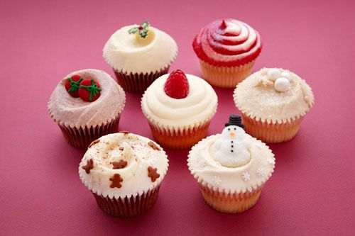 Christmas cupcakes (and baking ideas) from my favey bakery Hummingbird