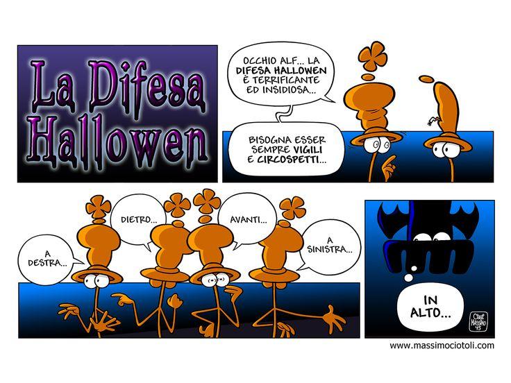 La Difesa Hallowen.