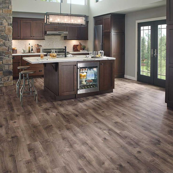 Pergo XP Warm Grey Oak 8 mm Thick x 6-1/8 in. Wide x 47-1/4 in. Length Laminate Flooring (16.12 sq. ft. / case)-LF000862 - The Home Depot