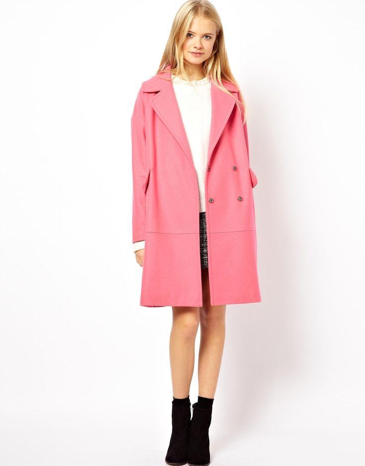 manteaux rose pour cet hiver!
