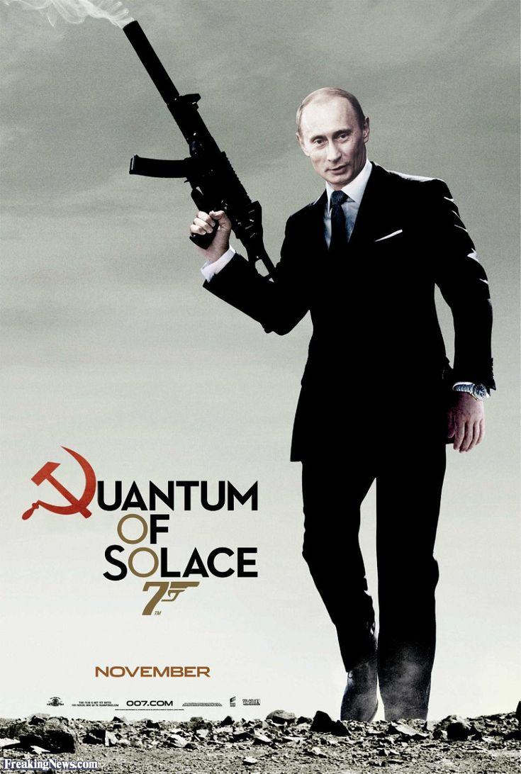 Vladimir Putin 007- his new career?