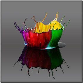 Colors Crowns, Waterdrop, Macro Photography, Rainbows Colors, Art, Jim Kramer, High Speed, Water Droplets, Colors Splashes