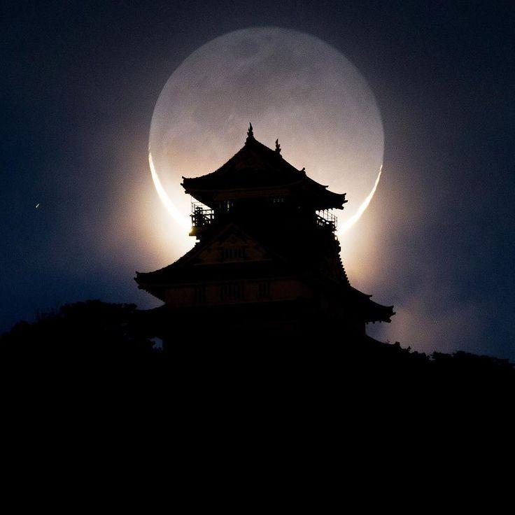 晴れが今朝しかなかったので岐阜城エクストリーム出社してきましたしんどいわ #nightimages#nightview#japan_night_view_member#tokyocameraclub#ptk_night#ptk_japan#loves_nippon#lovers_nippon#ig_japan#jp_gallery_member#team_jp_#icu_japan#wonderful_places#super_photolongexpo#IG_Color#photo_shorttrip#japan_of_insta#light_nikon#photo_travelers#visitjapanjp#gifusta#moon_of_the_day#写真好きな人と繋がりたい#kf_gallery#満月たつお#エクストリーム出社#ig_today#yourshotphotographer