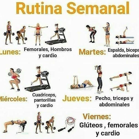 rutina de ejercicios para gluteos en el gym para mujeres