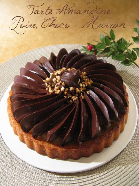 Amandine Tarta de pera / Choco - Brown