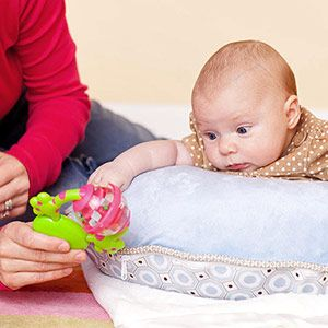 Repeated activities, such as playing with certain toys, allows infants to learn about different objects and how touching certain objects creates different sounds