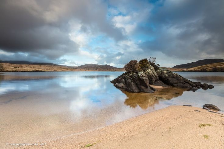 Loch Tearnait Reflections by Chris Simmons Photography