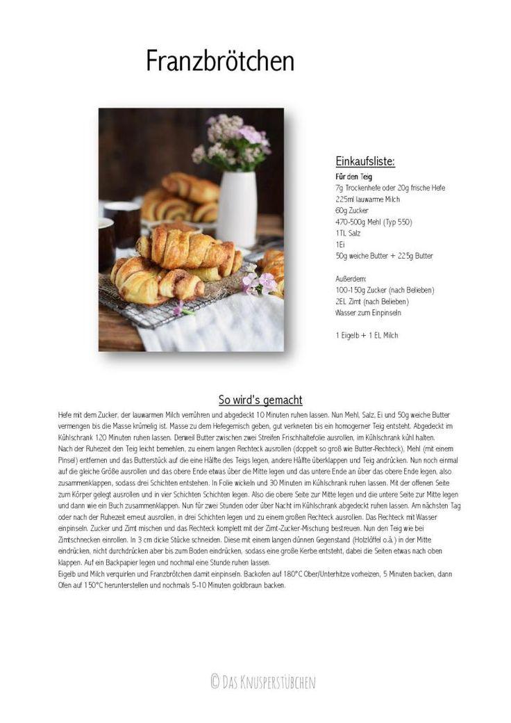 Franzbrötchen - Hamburg Cinnamon Pastry Rolls Rezept
