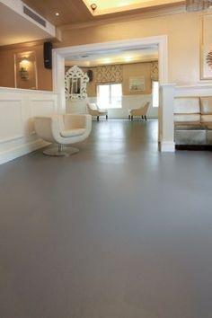 How to paint cement floors - basement