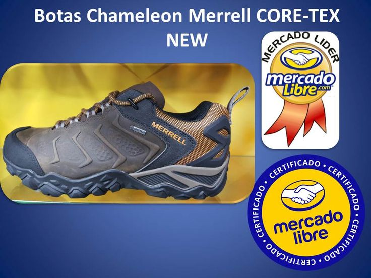 Deportivos Fair Play: Tenis - Zapatos Merrell Chameleon Core-tex - New