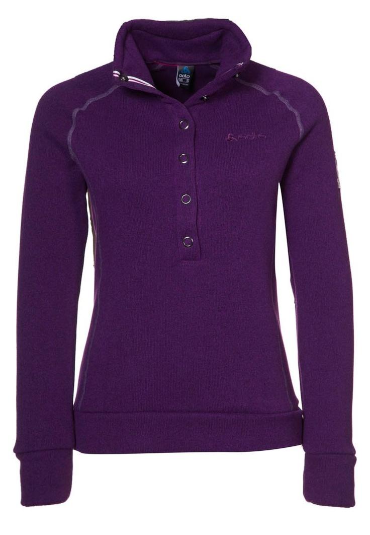 ODLO  VIA CALMA - Sweatshirt - purple