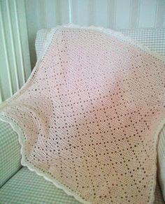 corinevandongen: Vintage Baby Deken ~ Roze, #haken, gratis patroon, Nederlands, #haakpatroon