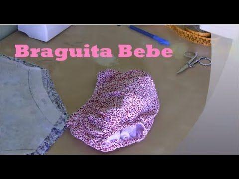 Confección Braguita Bebe - YouTube